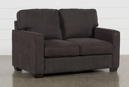 Morris Charcoal Twin Sofa Sleeper
