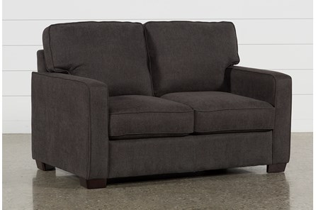 Morris Charcoal Twin Sofa Sleeper - Main