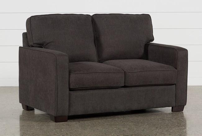 Morris Charcoal Twin Sofa Sleeper - 360
