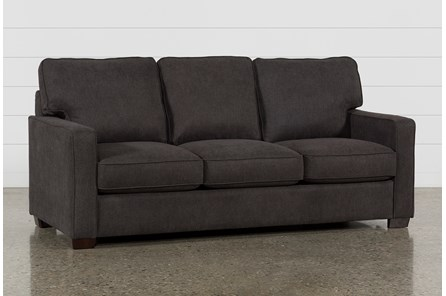 Morris Charcoal Queen Sofa Sleeper - Main