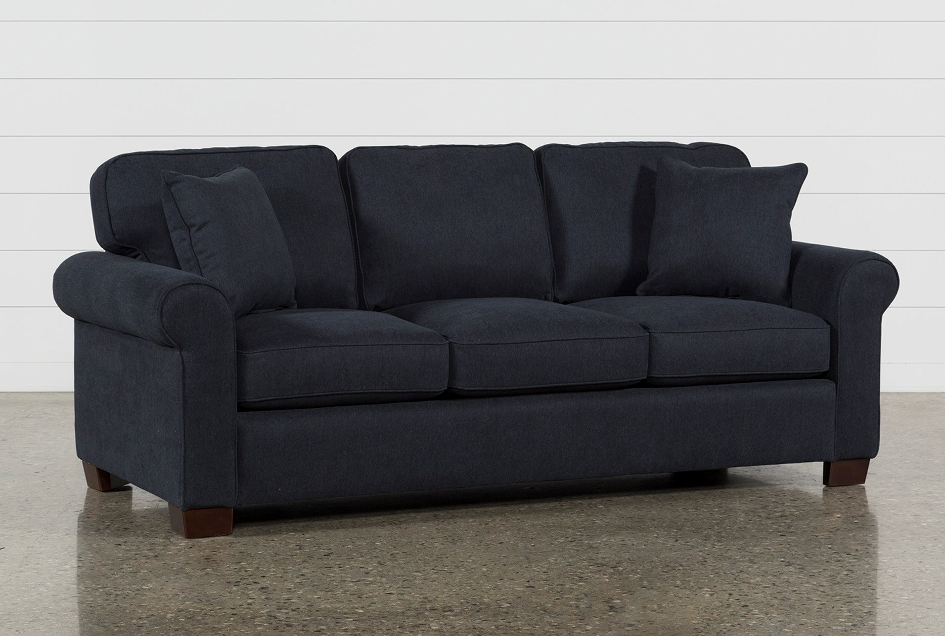 Margot Denim Full Sofa Sleeper Living Spaces