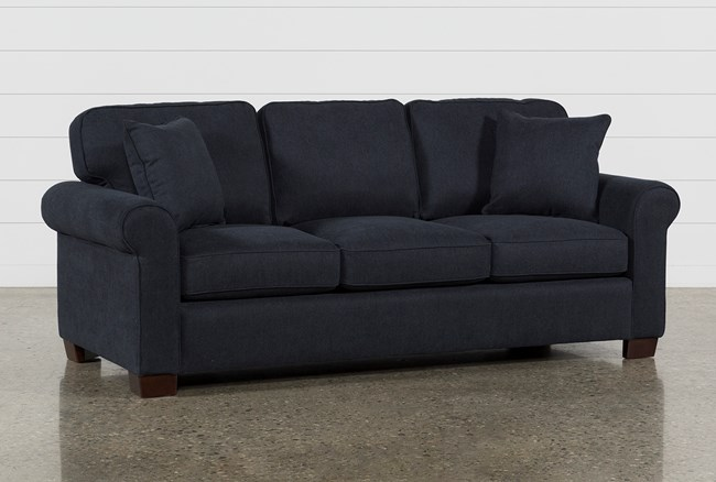 Margot Denim Queen Sofa Sleeper - 360