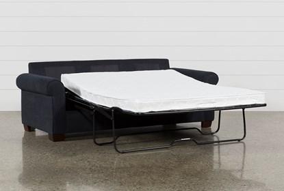 Miraculous Margot Denim Queen Sofa Sleeper Ibusinesslaw Wood Chair Design Ideas Ibusinesslaworg