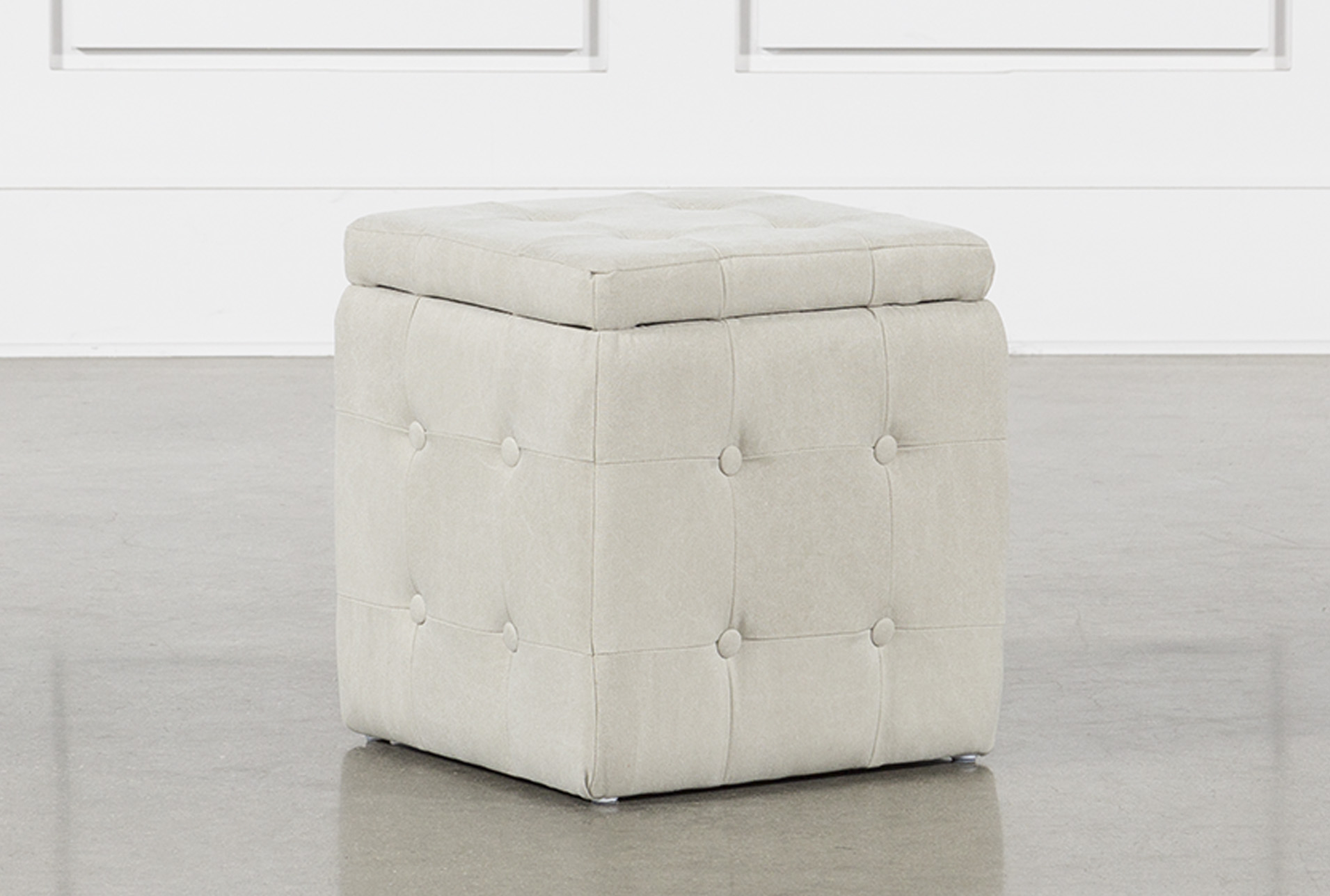 Merveilleux 2 Piece Set Cream Upholstered Storage Cube (Qty: 1) Has Been Successfully  Added To Your Cart.