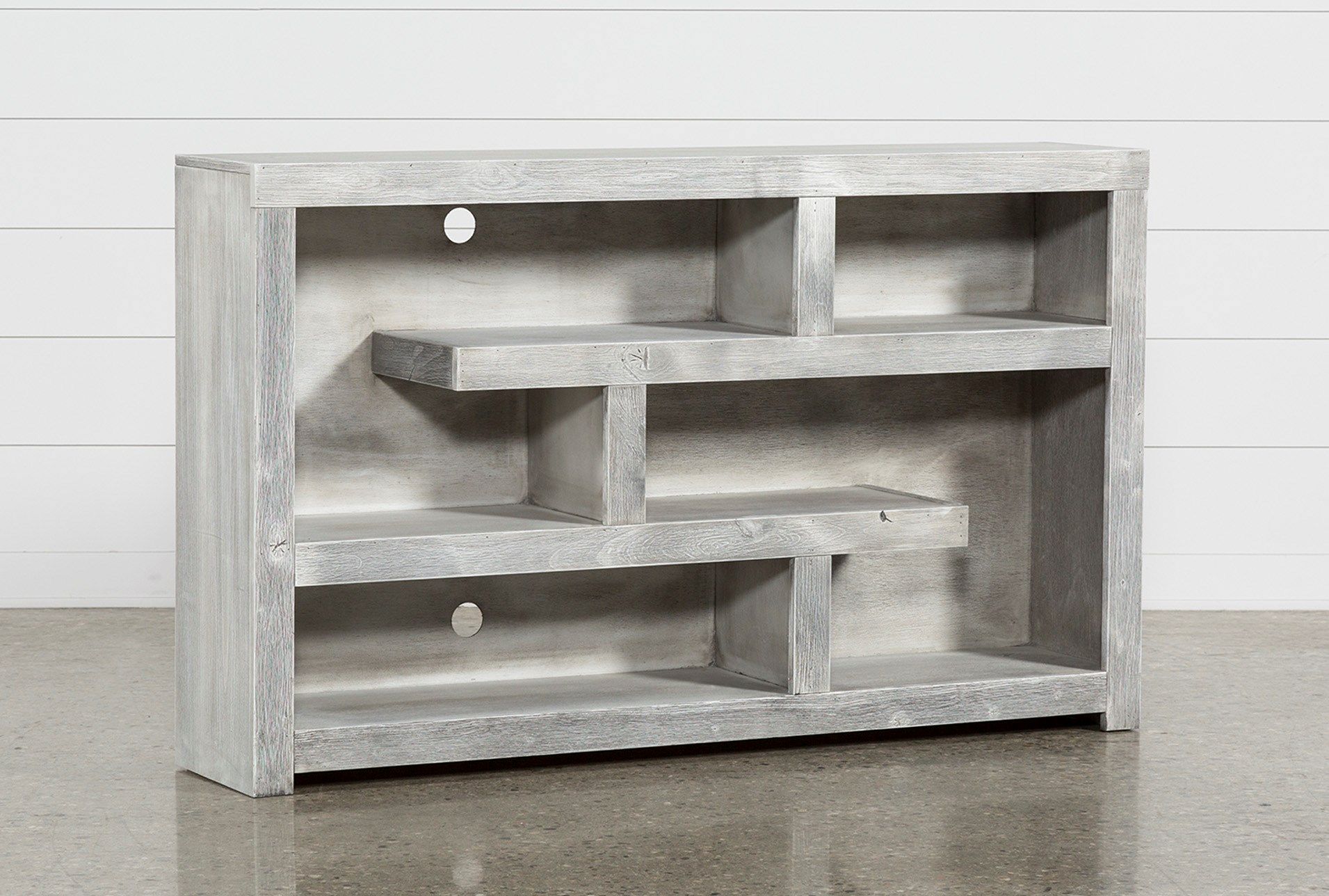 Kenzie 60 Inch Open Display Tv Stand Living Spaces