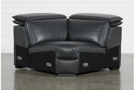 Hana Slate Leather Corner Wedge With Ratchet Headrests