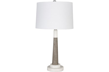 Table Lamp-Stone And Marble Mix