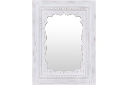 Mirror-White Washed 40X30