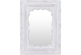 Mirror-White Washed 40X30