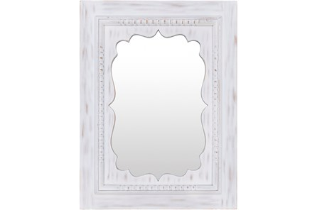 Mirror-White Washed 40X30 - Main