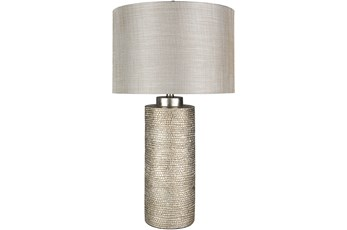 Table Lamp-Gilded Silver