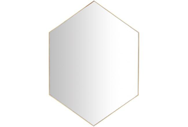 Mirror-Diamond Hand Gilded Gold 30X42 - 360