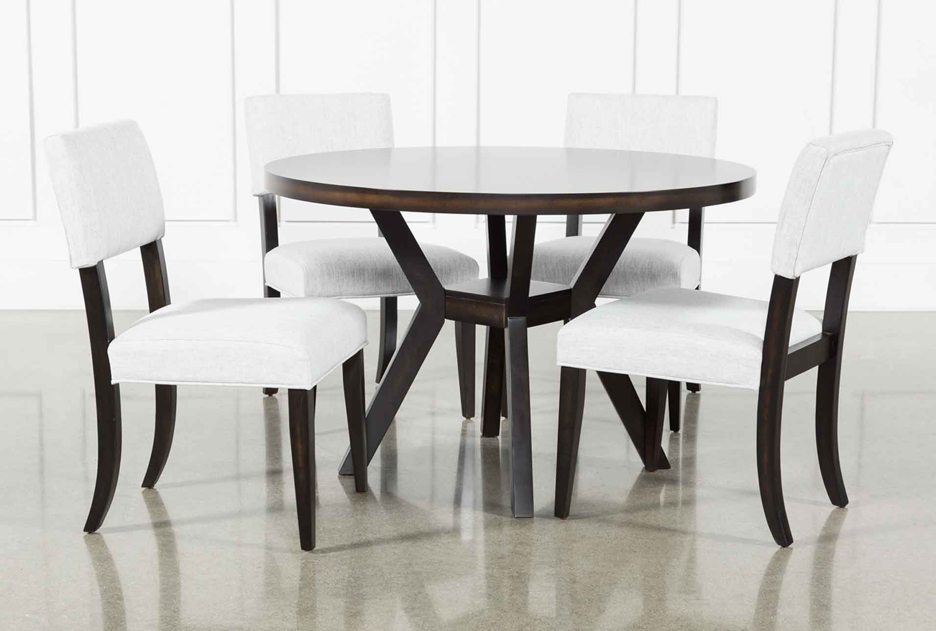 Picture of: Macie Black 5 Piece Dining Set Living Spaces