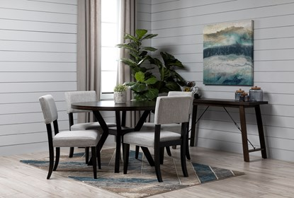 Macie Black Dining Side Chair Living Spaces