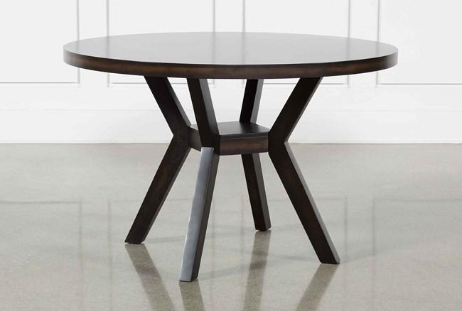 Macie Black Dining Table - 360