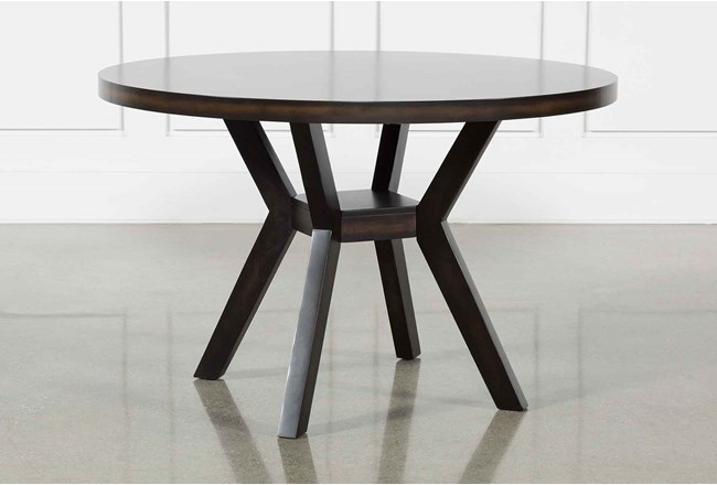 Macie Black Dining Table - 360