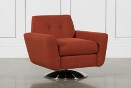 Chill Swivel Chair W/ Metal Base