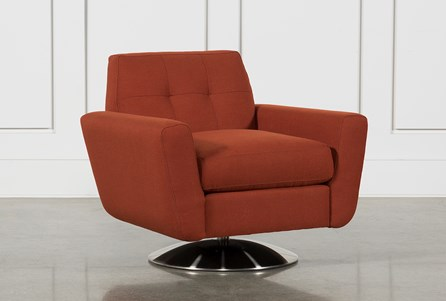 Chill Swivel Chair W/ Metal Base
