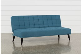 Bea Blue Convertible Sofa