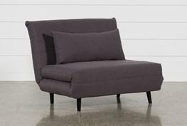 Becky Grey Convertible Chair