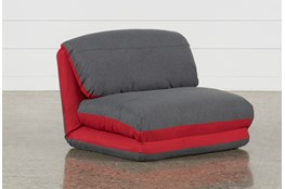 Buddy Grey Convertible Chair
