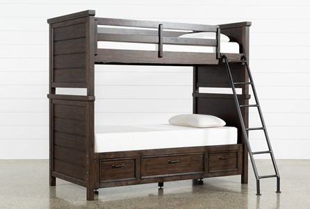 Jacob Twin Over Twin Bunk Bed With Storage