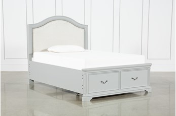 Julia Full Panel Bed With Storage