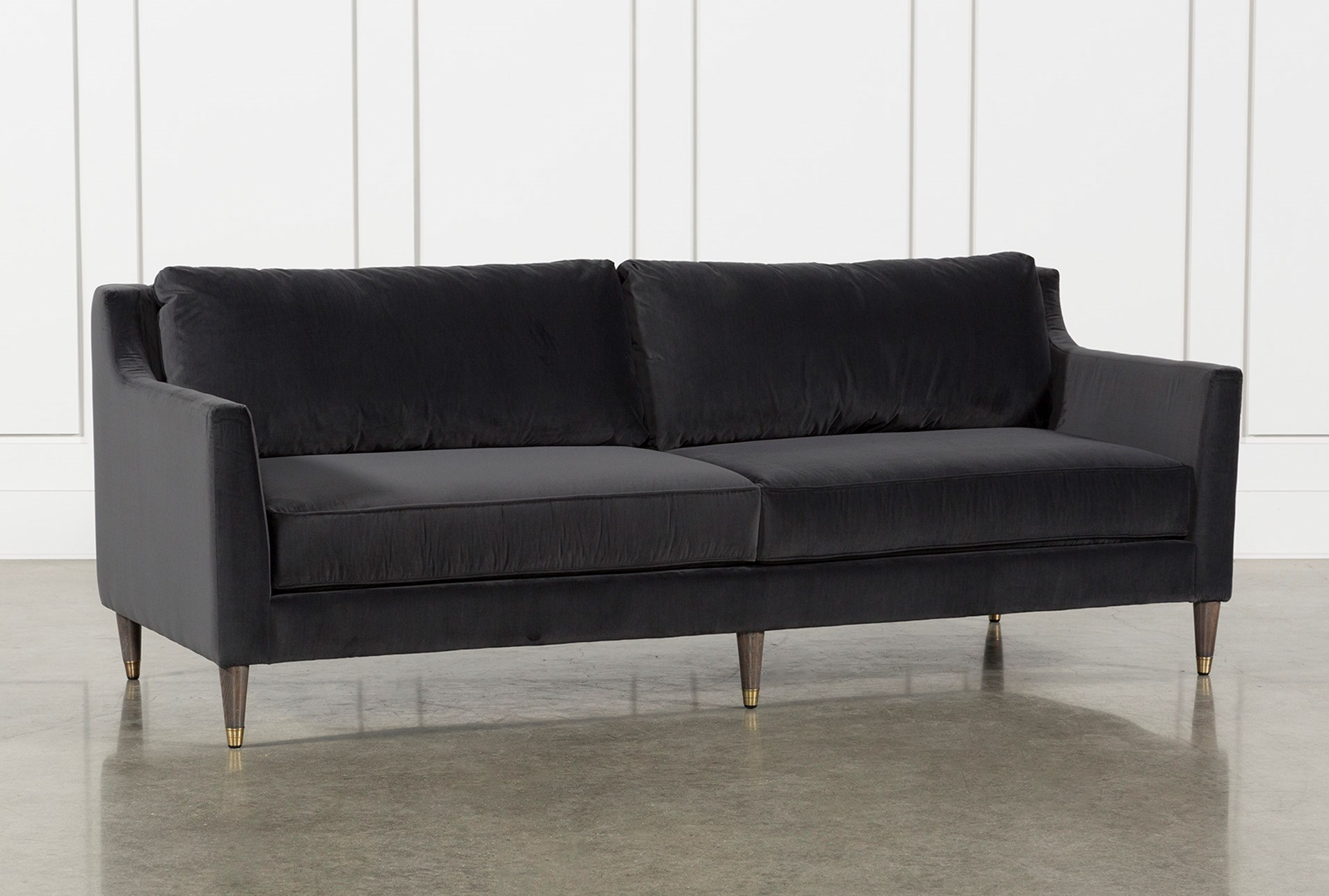 ames sofa by nate berkus and jeremiah brent living spaces. Black Bedroom Furniture Sets. Home Design Ideas