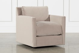 Nichol Swivel Accent Chair By Nate Berkus And Jeremiah Brent