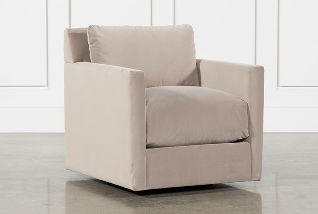 Nichol Swivel Accent Chair By Nate Berkus And Jeremiah Brent - 360