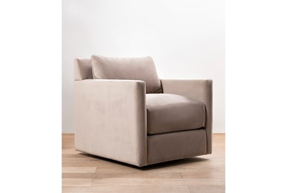Super Nichol Swivel Accent Chair By Nate Berkus And Jeremiah Brent Lamtechconsult Wood Chair Design Ideas Lamtechconsultcom