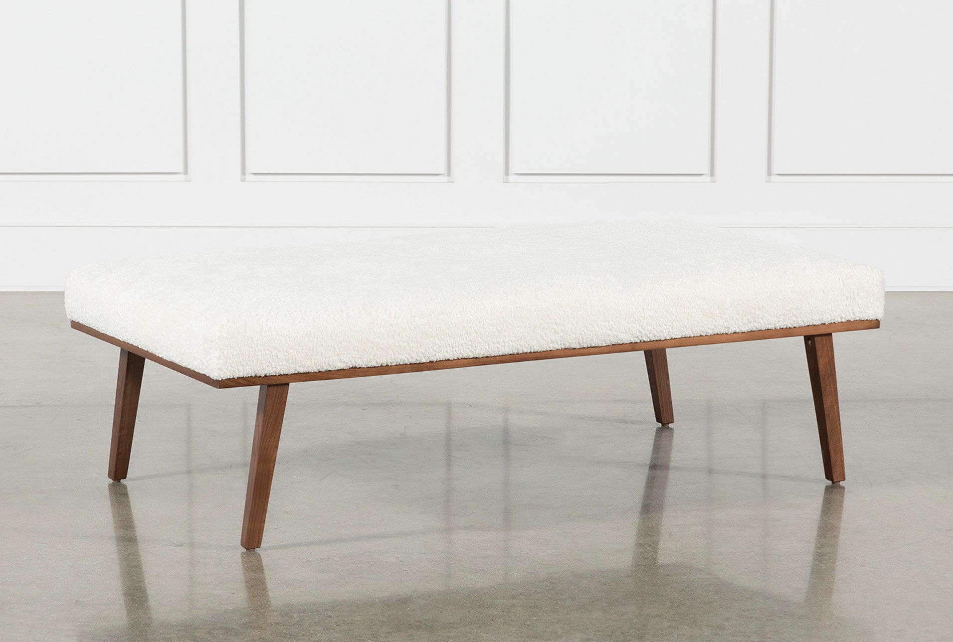 Chloe accent cocktail ottoman by nate berkus and jeremiah brent qty 1 has been successfully added to your cart