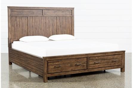 Aldean Queen Panel Bed With Storage