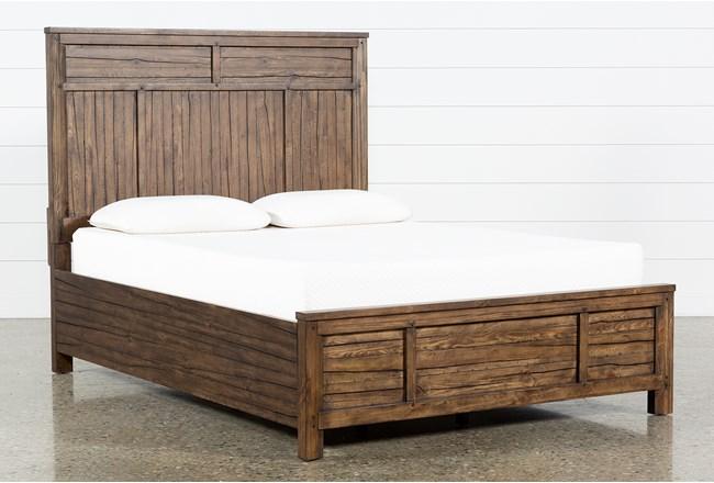 Aldean California King Panel Bed - 360