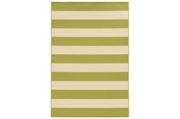 29X53 Outdoor Rug-Lime Stripe