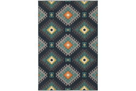 94X130 Outdoor Rug-Diamond Motiff