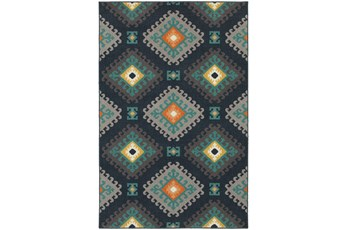 118X154 Outdoor Rug-Diamond Motiff