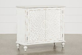 Ellis Carved Door Accent Chest