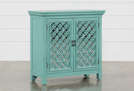 Lewis Green Accent Chest