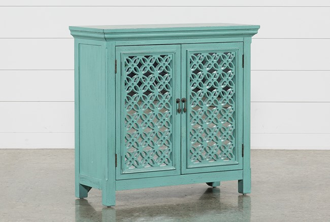 Lewis Green Accent Chest - 360