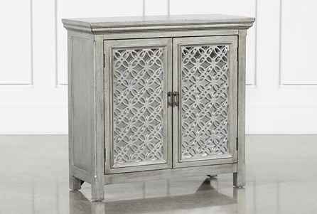 Lewis Silver Accent Chest