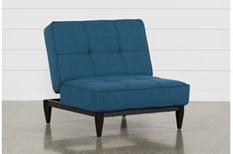 Paige Blue Convertible Chair