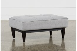Paige Grey Convertible Ottoman