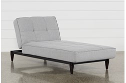 Paige Grey Convertible Chaise Sleeper