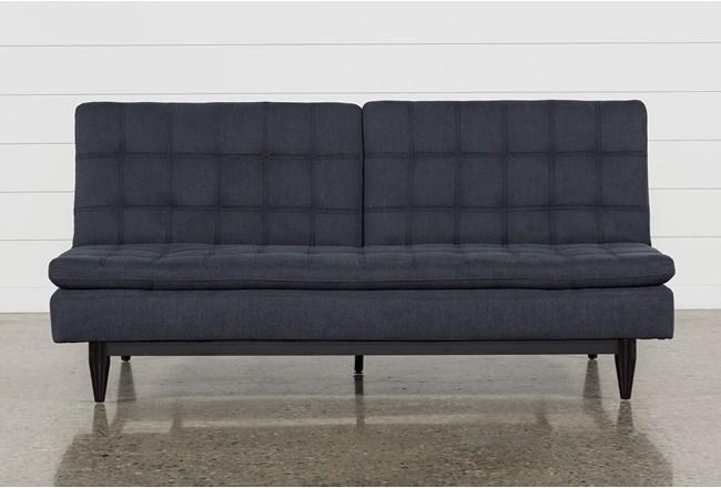 Peggy Grey Convertible Sofa Bed - 360