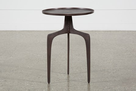 Gibson Black Accent Table