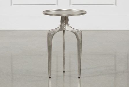 Gibson Silver Accent Table