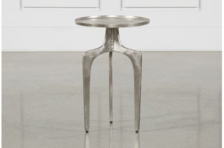Gibson Silver Accent Table - Main