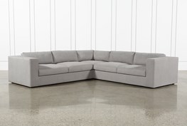 """Whitley 3 Piece 126"""" Sectional By Nate Berkus & Jeremiah Brent"""