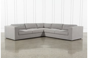 "Whitley 3 Piece 126"" Sectional By Nate Berkus & Jeremiah Brent"